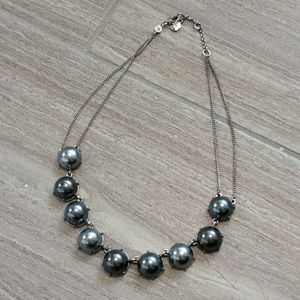 Monet pearl 16 inch necklace w/2 in extender